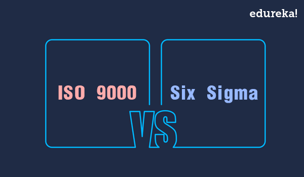similarities and differences between tqm iso and six sigma