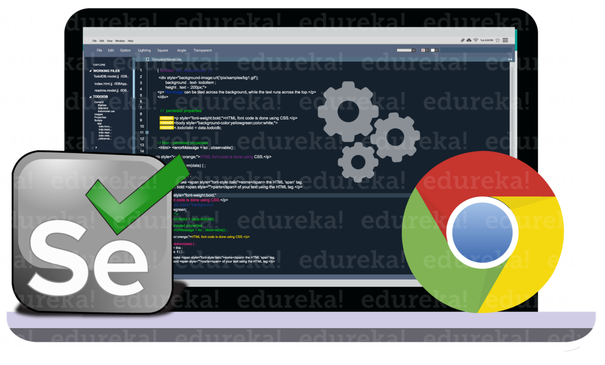 How to Run Selenium WebDriver in Chrome Browser? Edureka