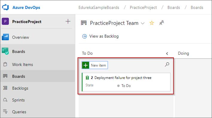 Azure Boards Getting Started With Agile Planning On Azure Edureka