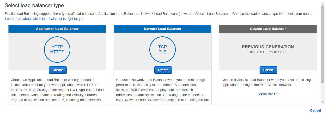 create-lb1 - Network Load Balancer - Edureka