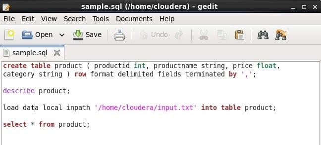 HIVE Script | Apache Hadoop Sample Script | Hive Commands