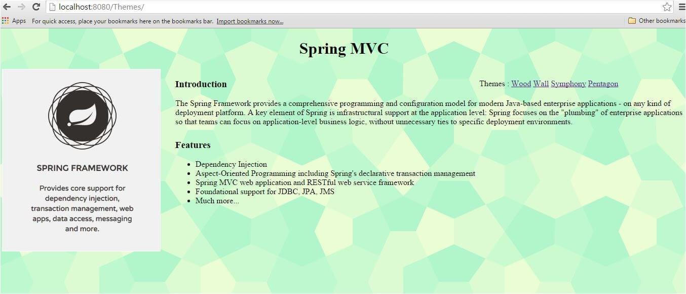 How to use Spring MVC Themes Edureka
