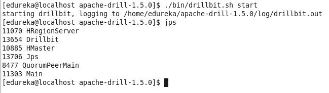 command-Apache-Drill