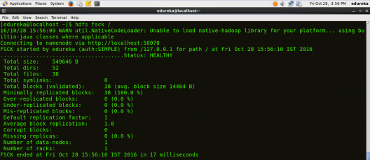 HDFS Commands | Hadoop Shell Commands to Manage HDFS | Edureka