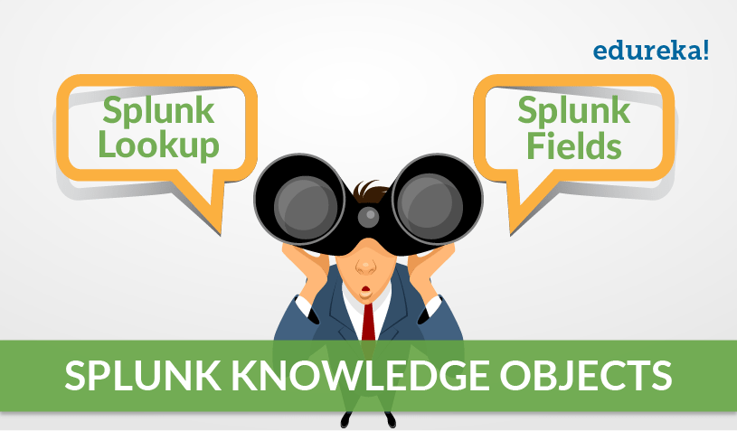 Knowledge Objects: Splunk Lookup and Splunk Fields | Edureka