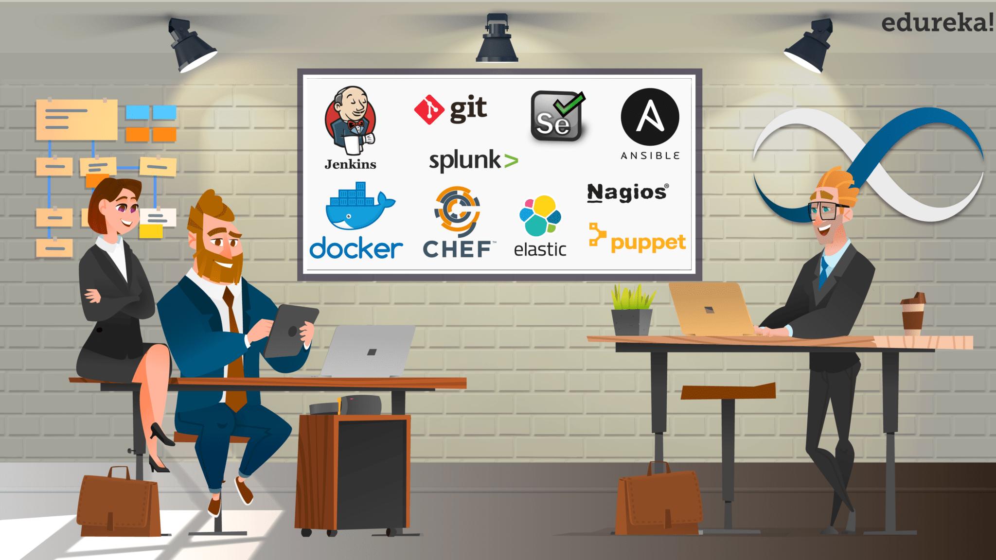 Top 10 DevOps Tools You Must Know In 2019 | Edureka