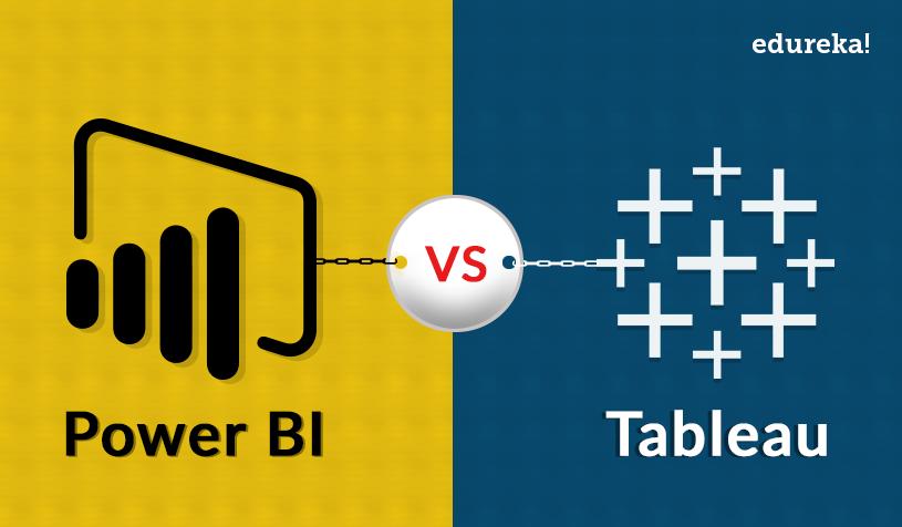 Power BI vs Tableau | Which One Would You Choose | Edureka