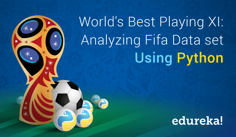 Analyzing FIFA World Cup 2018 Best XI using Python | Edureka