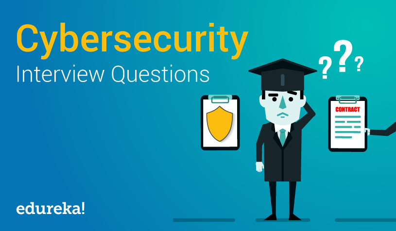 Top 50 Cybersecurity Interview Questions | Cybersecurity Training