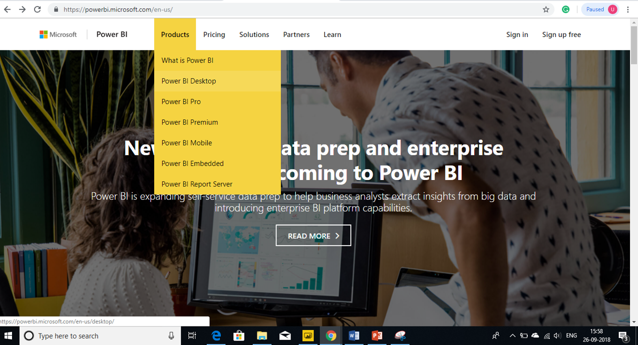 Power BI Installation