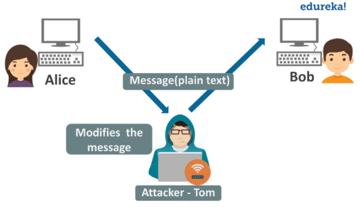Active Attack - What is Network Security - Edureka