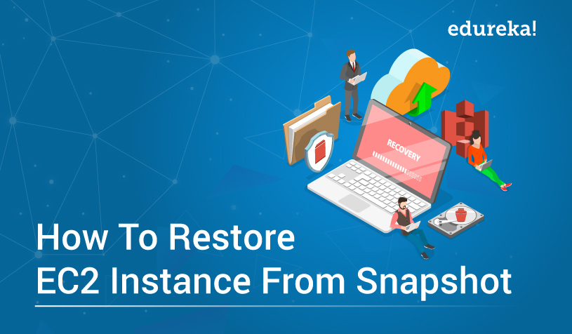 How To Restore EC2 From Snapshot | EBS Volume | Edureka