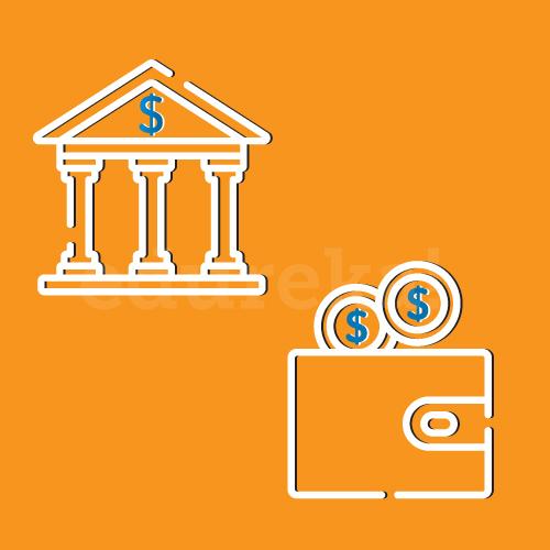 wallet and bank - On Premise vs Cloud Computing - Edureka