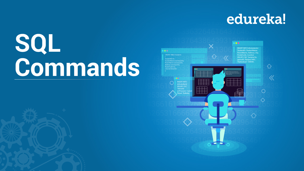 SQL Commands Tutorial - List of SQL Commands with Example