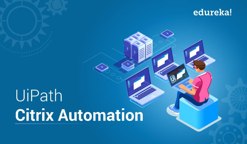 UiPath Citrix Automation Tutorial - Image & Text Automation