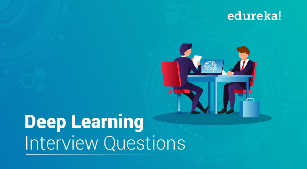 Top Deep Learning Interview Questions You Must Know | Edureka