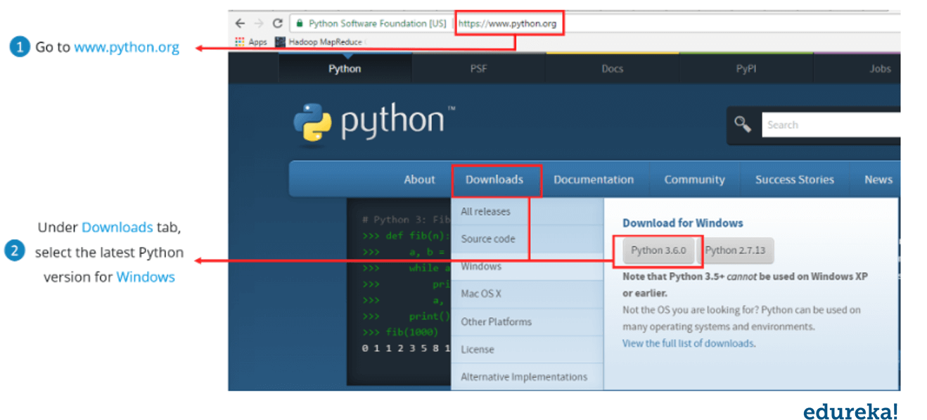 installation-how to run a python program-edureka