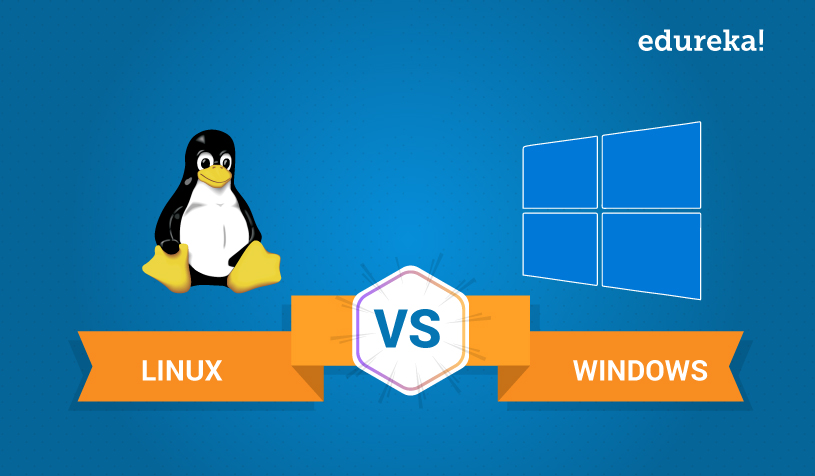 Linux vs Windows | Different Types Of Operating Systems | Edureka
