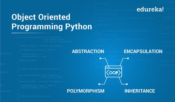 Object Oriented Programming Python Python Oop Concepts Edureka