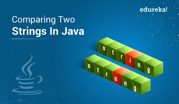 Comparing Two Strings In Java | String Comparison In Java | Edureka