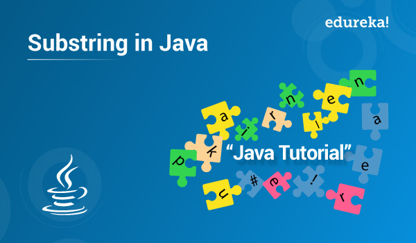 Substring in Java | String substring() Method Example | Edureka