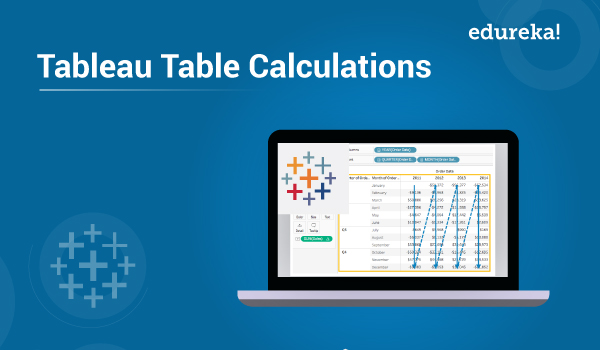Tableau Table Calculations | Table calculation Functions