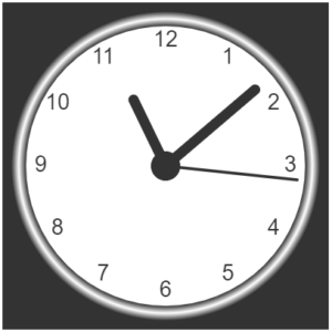 clock output - javascript projects- edureka