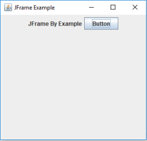Jframe Example - JFrame in Java - Edureka