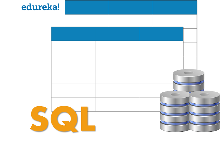 SQL Logo - SQL Query Interview Questions - Edureka