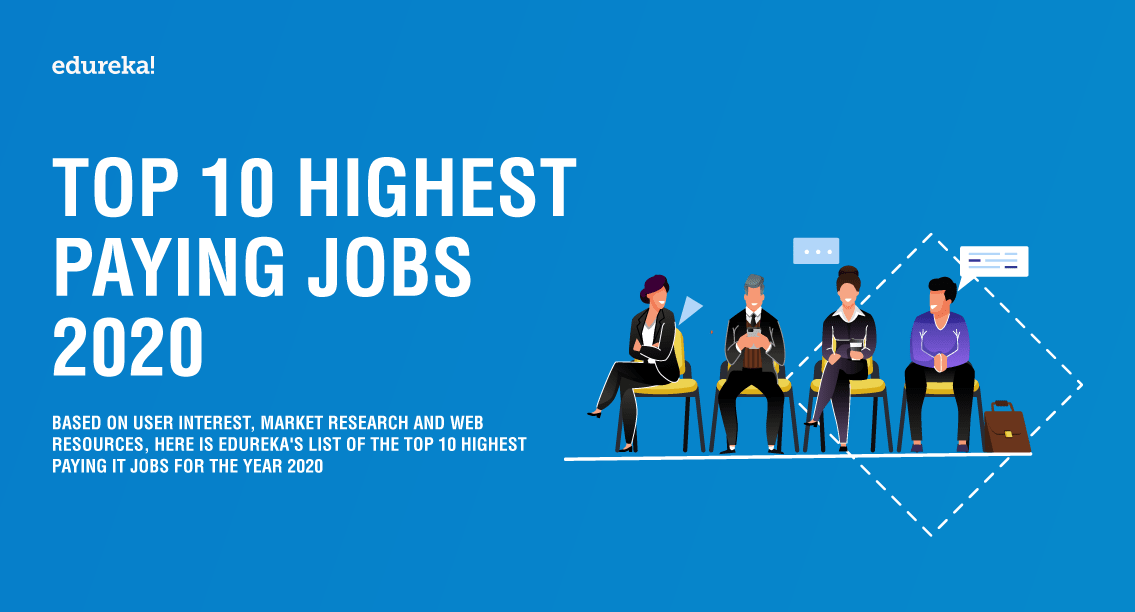 Top 10 Highest Paying Jobs 2020 - Edureka Blog - Edureka - 1