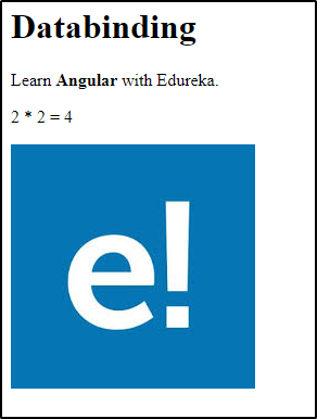 Interpolation-Angular Data binding -Edureka