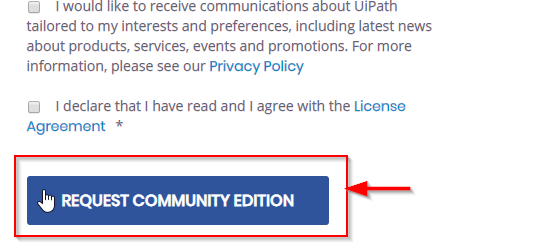 UiPath (RPA tool) free version installation   Edureka Community