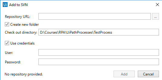 UiPath with SVN | Edureka Community