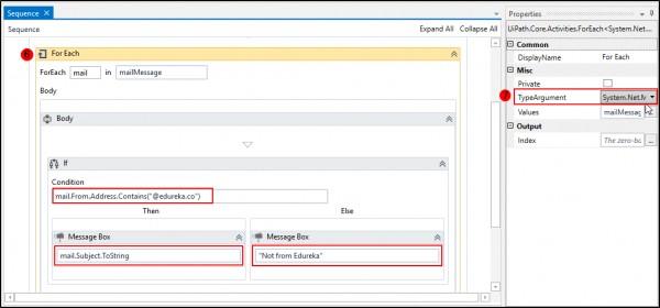 How to filter emails based on sender's email addresses?   Edureka
