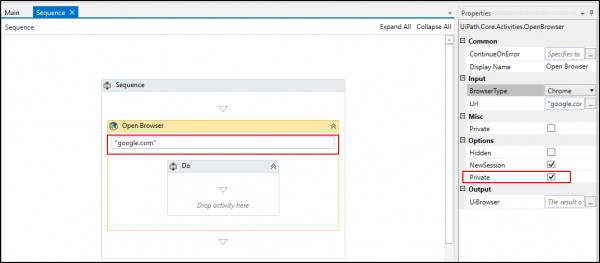 How to open chrome in Incognito Mode using UiPath?   Edureka