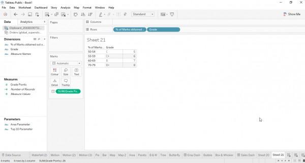 Copy data to Tableau | Edureka Community