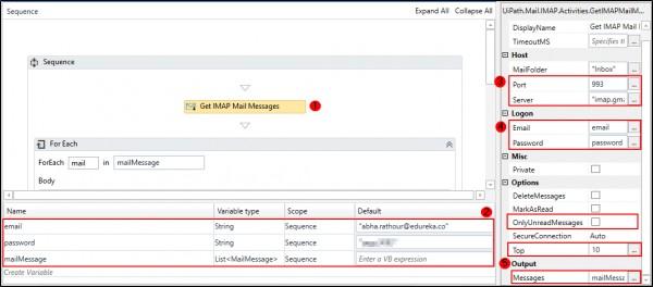 How to filter emails based on sender's email addresses