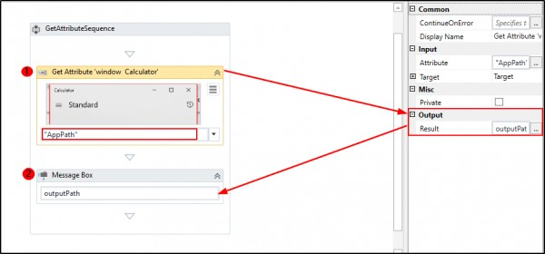 What is Get Attribute activity and how it can be used in UiPath