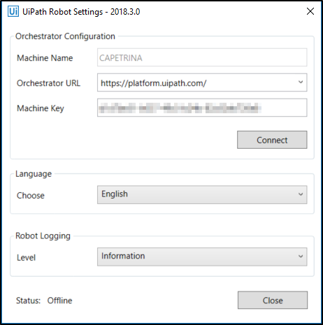 How can I connect Robots to Orchestrator in UiPath? | Edureka Community