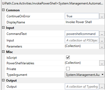Using Powershell from UiPath | Edureka Community