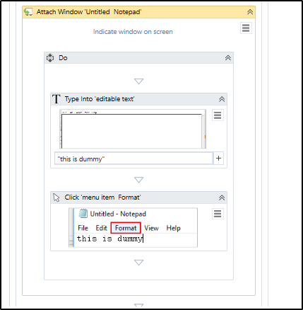How to format text in notepad using UiPath? | Edureka Community