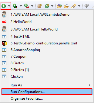 Hello World Lambda Function Java | Edureka Community