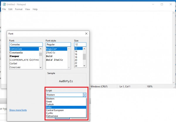 How to select dropdown value for desktop application using Windows