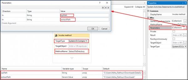 How to unzip a zipped folder using UiPath? | Edureka Community