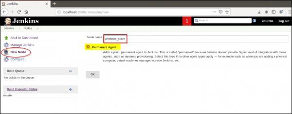 How do I set up a windows_slave agent via JNLP, If I have a