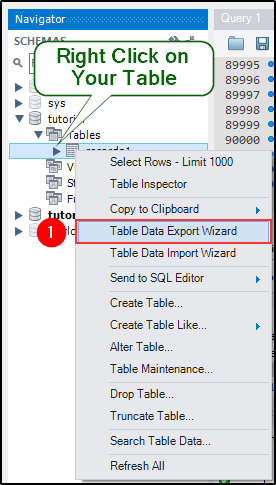 How To Export Data From Mysql To A Csv File Edureka Community
