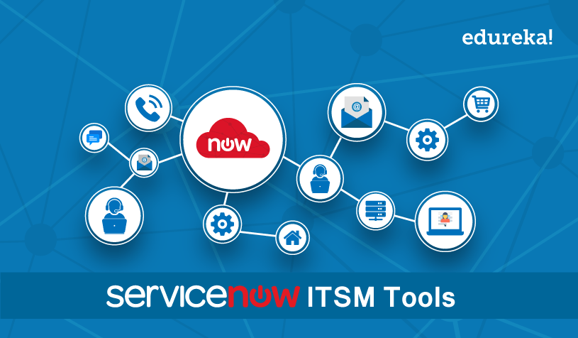 Servicenow Itsm Tools Servicenow It Services Demo Edureka