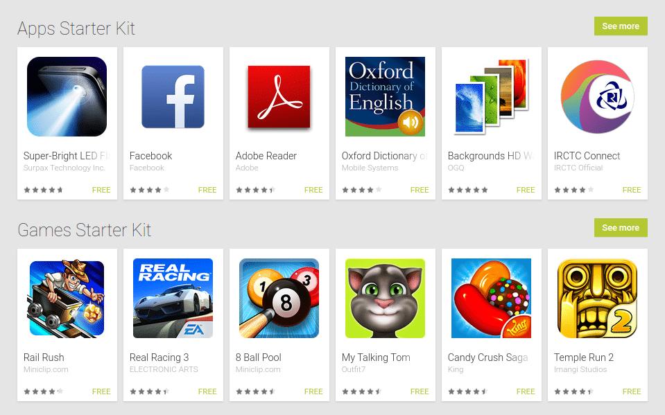 Google Play Store 2015