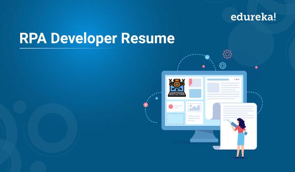 rpa developer resume sample